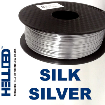 Hello3D Silk SILVER PLA - 2.85mm