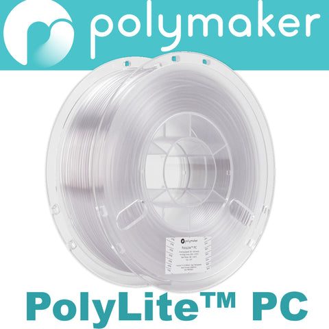 Polymaker PolyLite PC PC-Plus Polycarbonate 3D Printer Filament Canada
