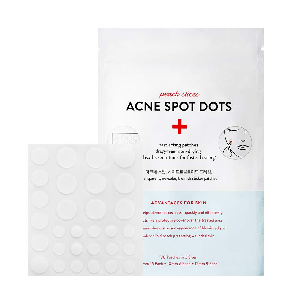 ACNE SPOT DOTS. Peach Slices
