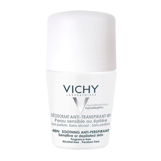 VICHY ANTIPERSPIRANTE PIEL SENSIBLE 48HRS 50 ML