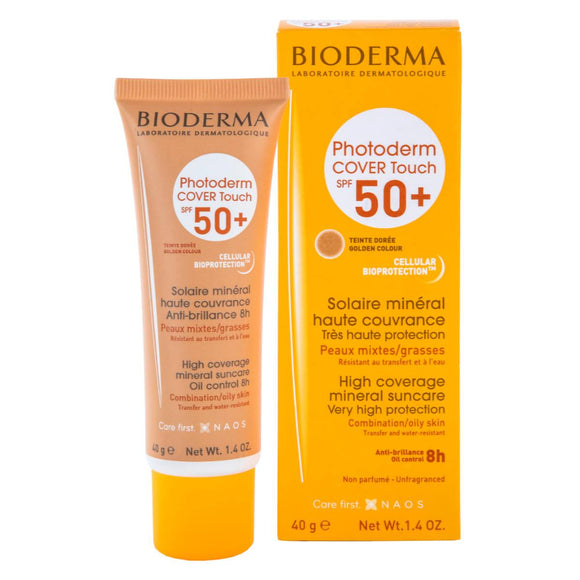 Bioderma Photoderm COVER Touch SPF 50+ Golden color