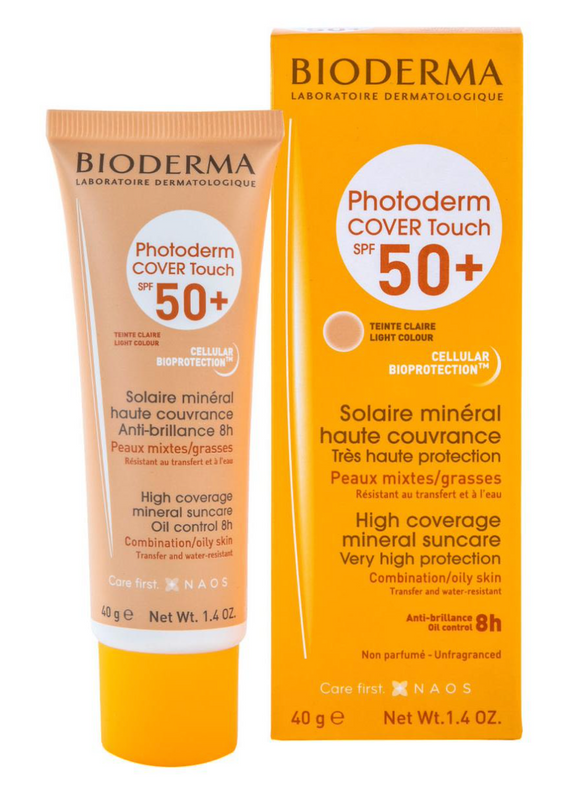 Bioderma Photoderm COVER Touch SPF 50+ Tinte Claro