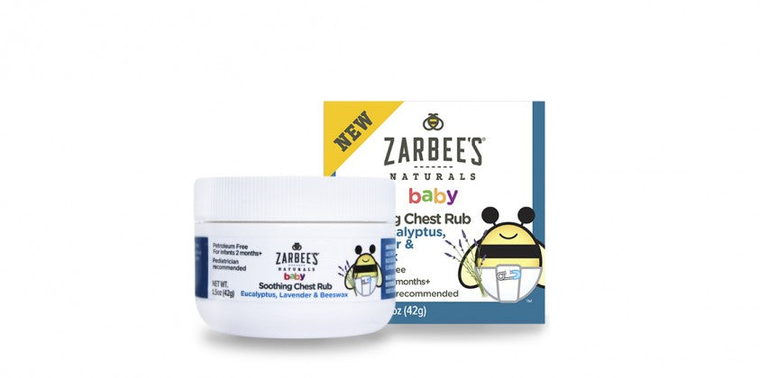Zarbee's Naturals Baby Chest Rub