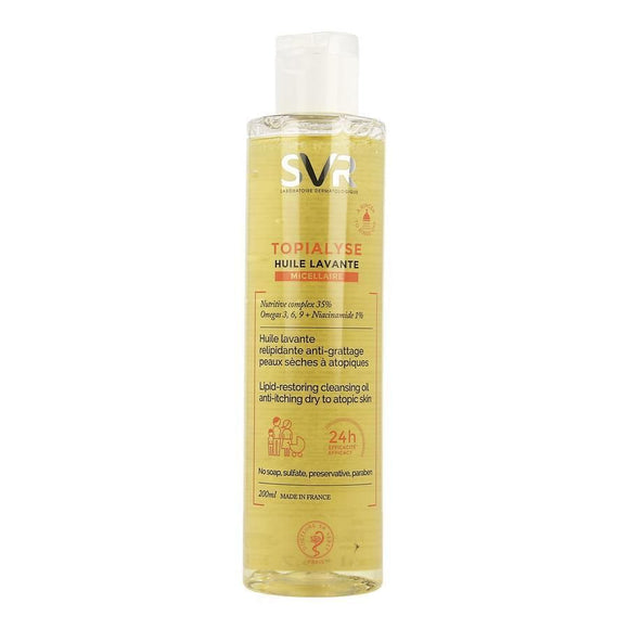 SVR TOPIALYSE HUILE MICELAIRE 200 ML