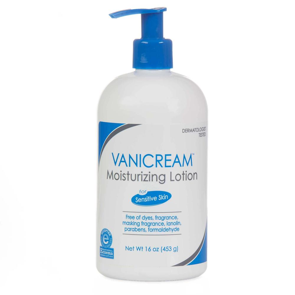 VANICREAM MOISTURIZING LOTION 16 OZ (453gr)