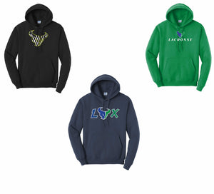 Mountain View Mavericks Core Fleece Pullover Hooded Sweatshirt Navy (Youth/Men's)