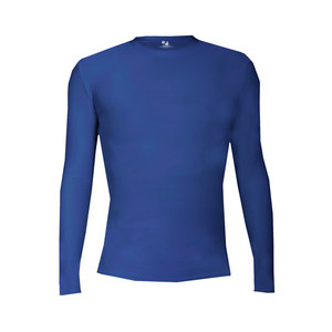 Pro-Compression L/S Crew Royal