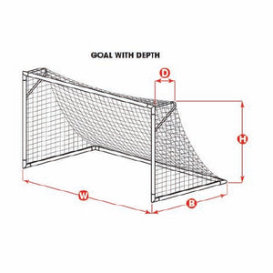 Replacement Net White 8H x 24W x 4D x 10B