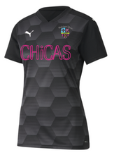 Load image into Gallery viewer, Indie Chicas Team Final 21 Graphic Jersey Black (Youth/Women's)