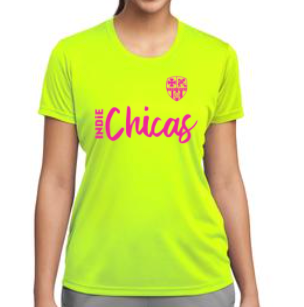 Indie Chicas Practice Jersey Neon Yellow (Youth/Women's)