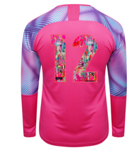 Load image into Gallery viewer, Indie Chicas Cup GK Jersey (Youth/Men's) - Fuchsia Purple/Aquarius