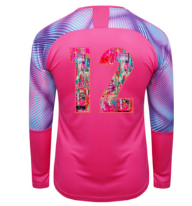 Indie Chicas Cup GK Jersey (Youth/Men's) - Fuchsia Purple/Aquarius