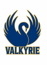 Load image into Gallery viewer, Valkyrie Swan Sticker