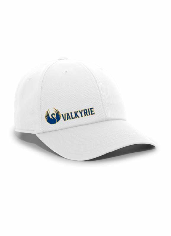 Embroidered Valkyrie Ladies Lightweight Hook and Loop Cap