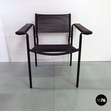 Load image into Gallery viewer, Alias black armchair, 1970s