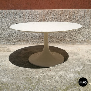Round tulip coffee table, 1970s