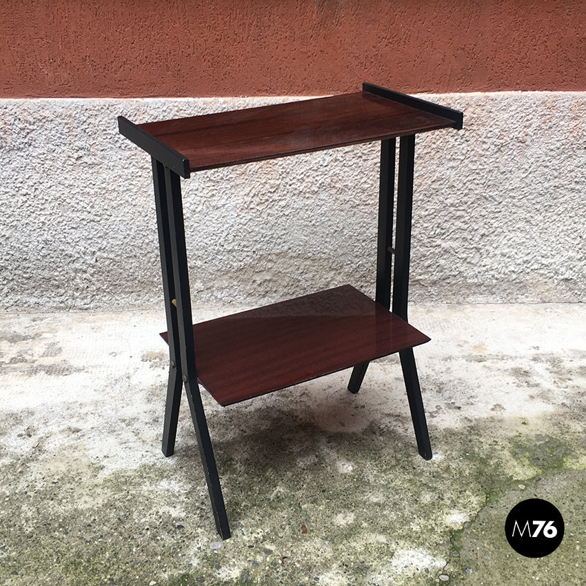 Small double-shelf table, 1960s