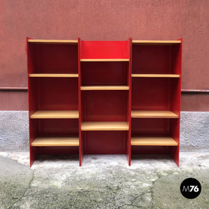 Metal bookcase by Arflex, 1970s