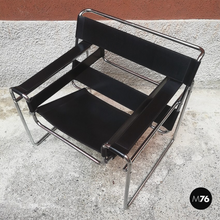 画像をギャラリービューアに読み込む, Wassily armchair by Marcel Breuer and produced by Gavina in 1968.