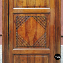 Load image into Gallery viewer, Walnut corner cabinet, 1800s