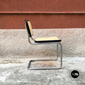 Set of 4 Cesca chair by Marcel Breuer and produced by Gavina in 1970s