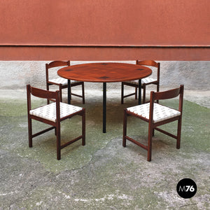 Set of chairs by Poltronova, 1960s