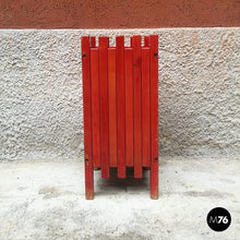 Load image into Gallery viewer, Red umbrella stand by Ettore Sottsass for Poltronova, 1961