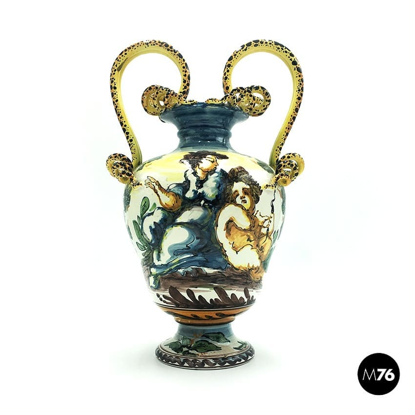 Vase from Albissola, 1900s