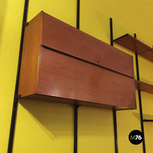 Load image into Gallery viewer, Wall bookcase E22 by Osvaldo Borsani for Tecno, 1960s