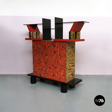 Load image into Gallery viewer, Freemont cabinet by Ettore Sottsass for Memphis, 1985.