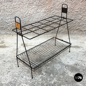 Umbrella stand in wire steel, 1950s
