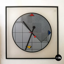 Load image into Gallery viewer, Wall clock by Kurt B. Delbanco for Morphos