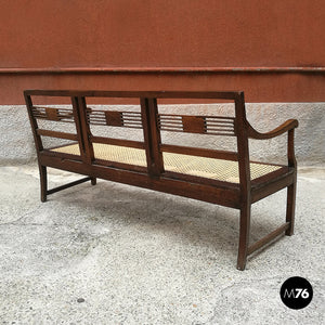 Vienna straw bench, 1980s
