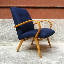 Load image into Gallery viewer, Danish beech armchair, 1960s