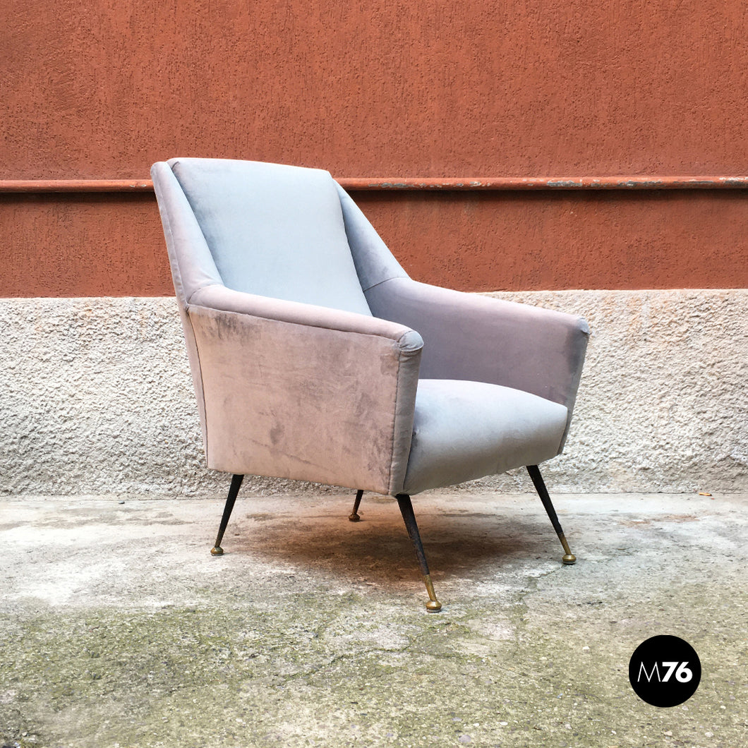 Grey armchair, 1960s