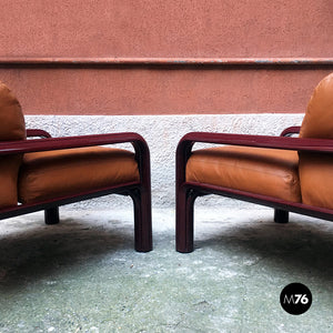 Armchairs mod. 54-S1 by Gae Aulenti for Knoll, 1977