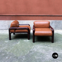 将图片加载到图库查看器,Armchairs mod. 54-S1 by Gae Aulenti for Knoll, 1977