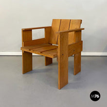 Load image into Gallery viewer, Crate chair by Gerrit Thomas Rietveld for Cassina, 1934