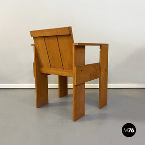 Crate chair by Gerrit Thomas Rietveld for Cassina, 1934