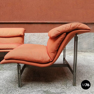 Wave sofa and armchair, by Giovanni Offredi, 1974