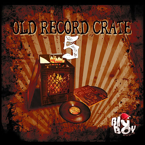 OLD RECORD CRATE 5