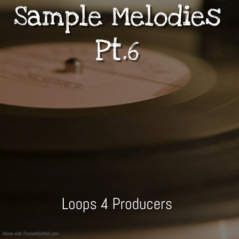 Sample Melodies Pt.6 78bpm