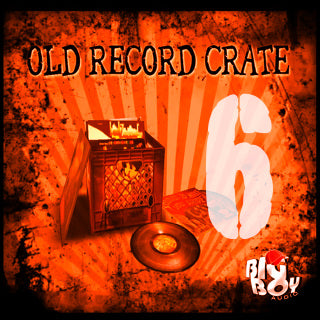 OLD RECORD CRATE 6