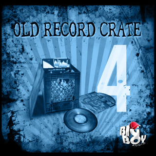 OLD RECORD CRATE 4