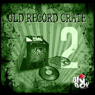 OLD RECORD CRATE 2