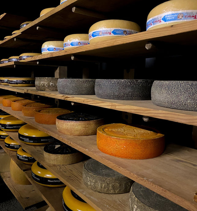 Cheesy Greetings from the Cheese Cellar
