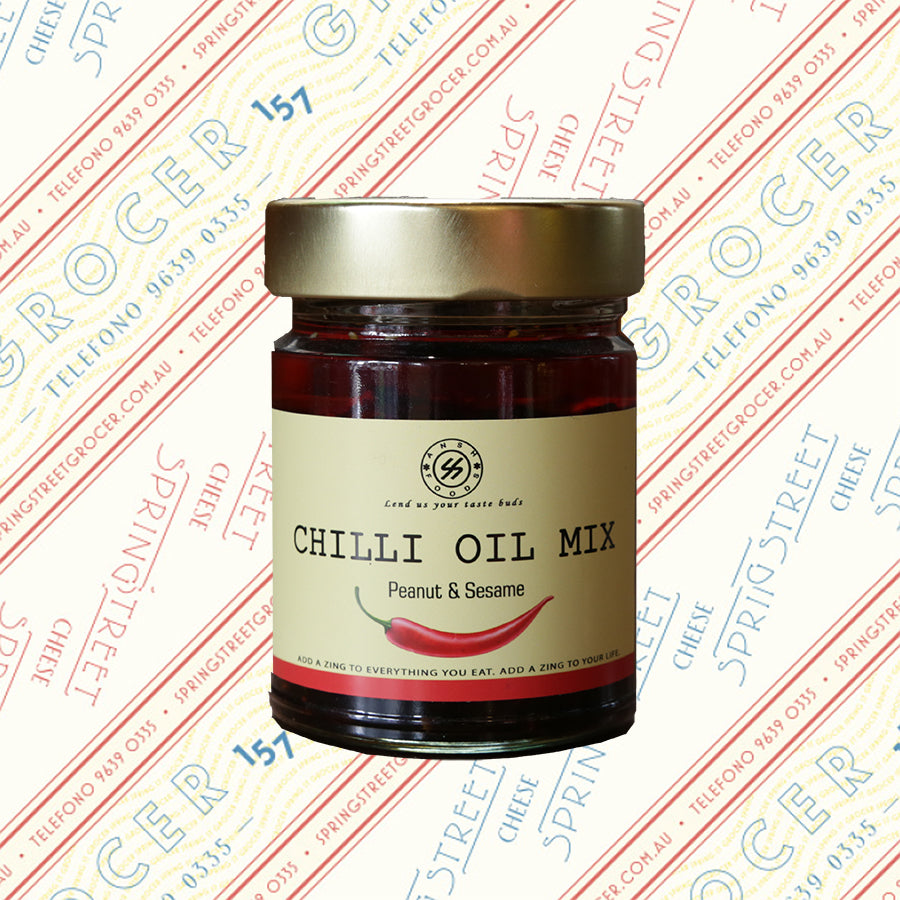 Chilli Oil Mix - Peanut & Sesame 250g
