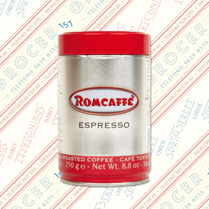 Romcaffè Ground Espresso Tin 250g