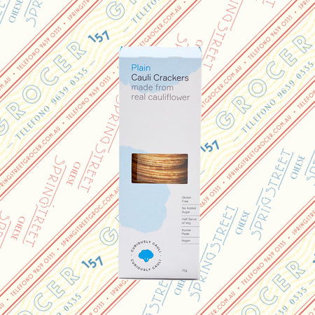Curiously Cauli - Cauliflower Crackers (GF) 70g