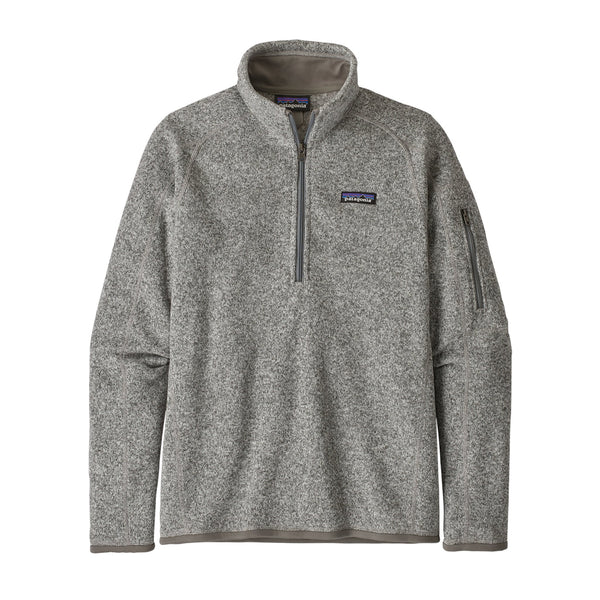 W's Better Sweater 1/4 Zip | Patagonia Bend